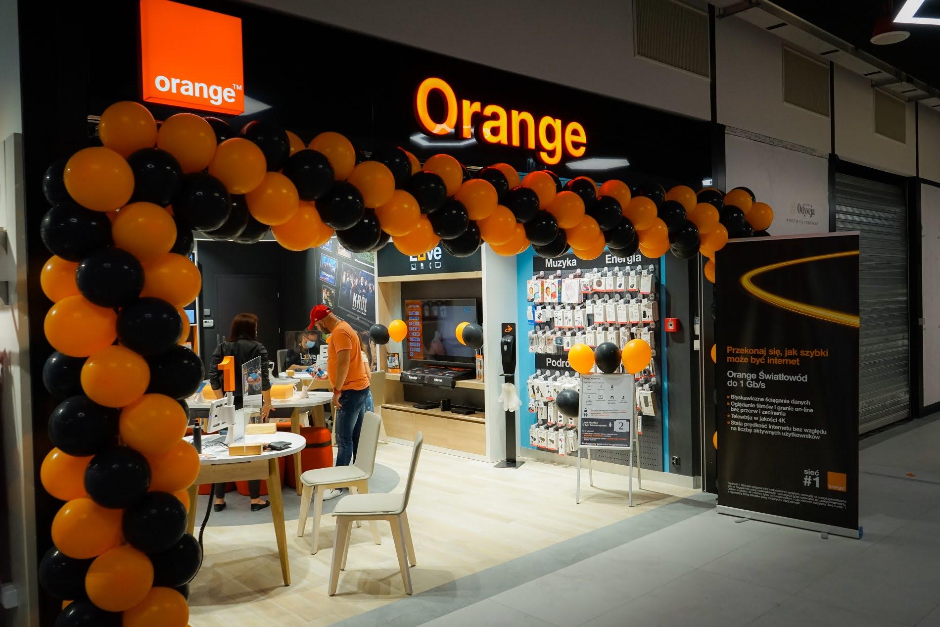 Sklep Orange w Galerii Odyseja
