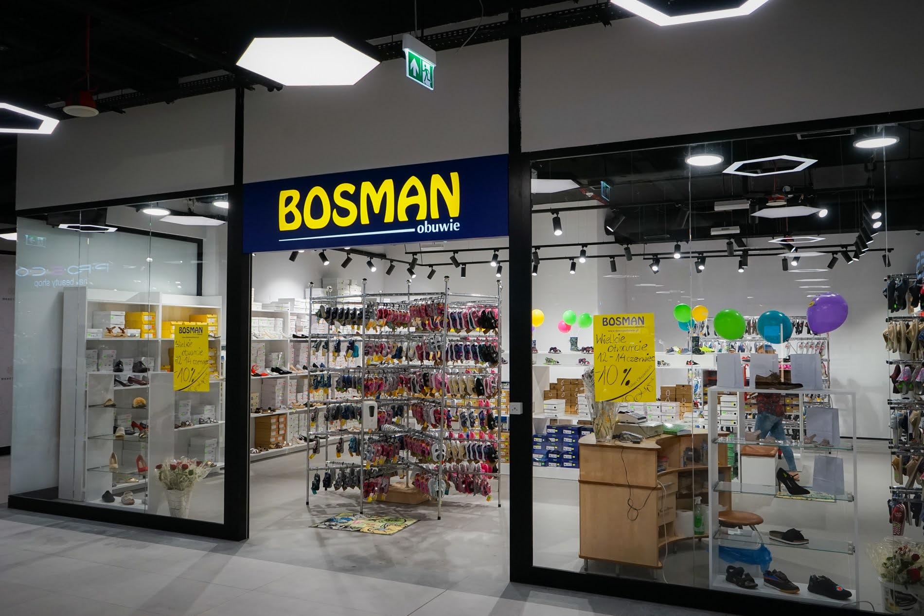Sklep Bosman w Galerii Odyseja