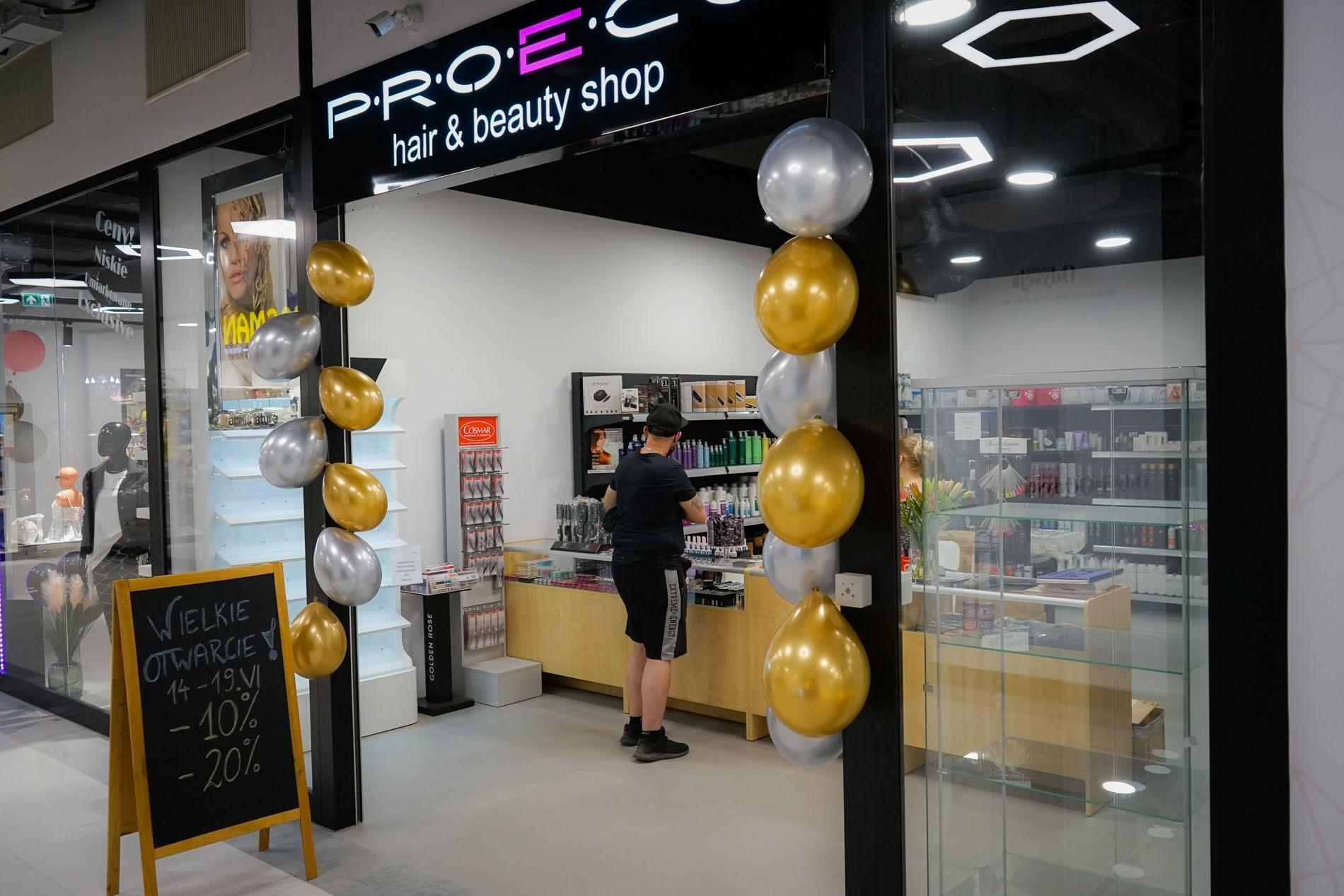 Sklep Proeco hair & beauty shop w Galerii Odyseja