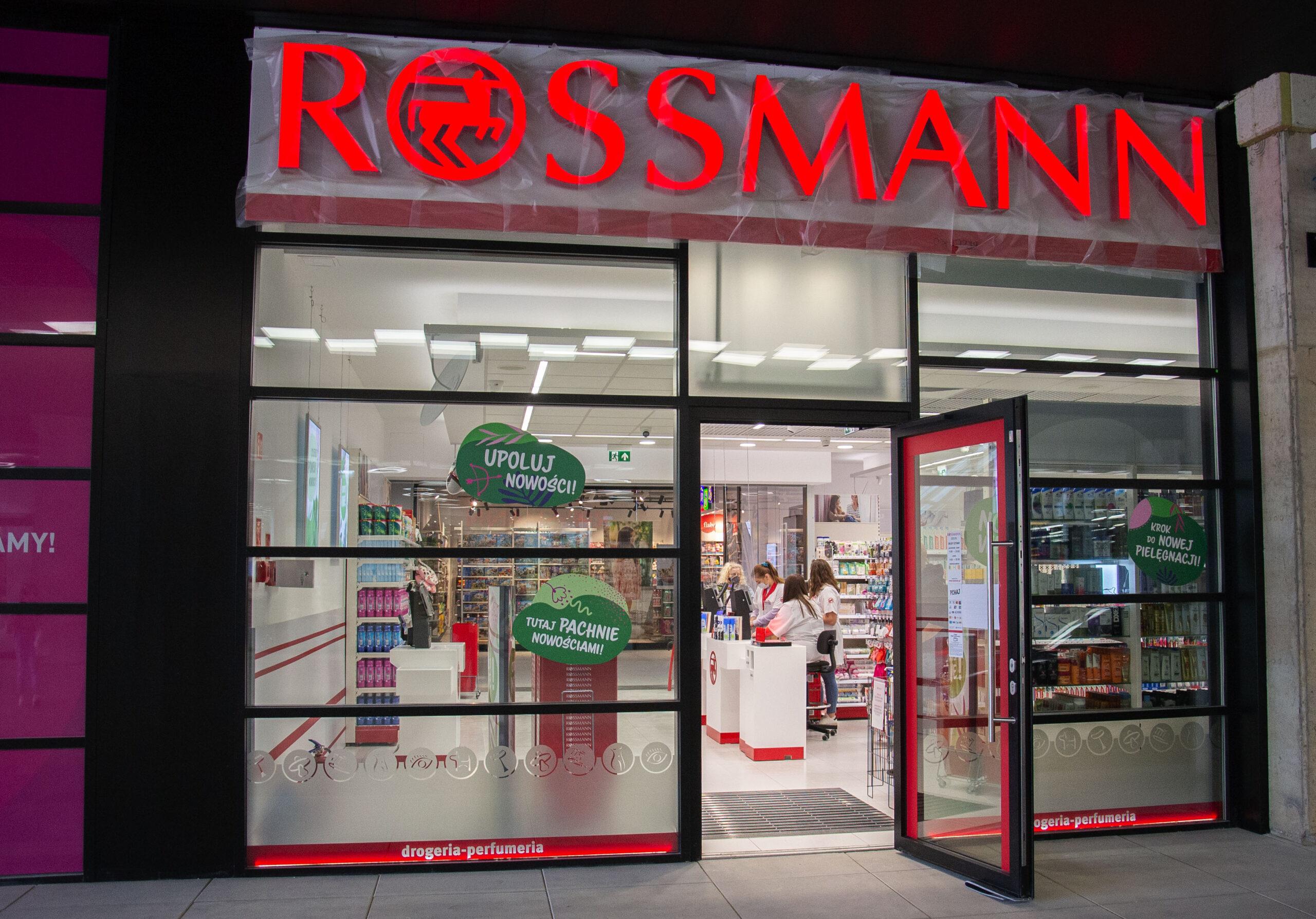 Sklep Rossmann w Galerii Odyseja