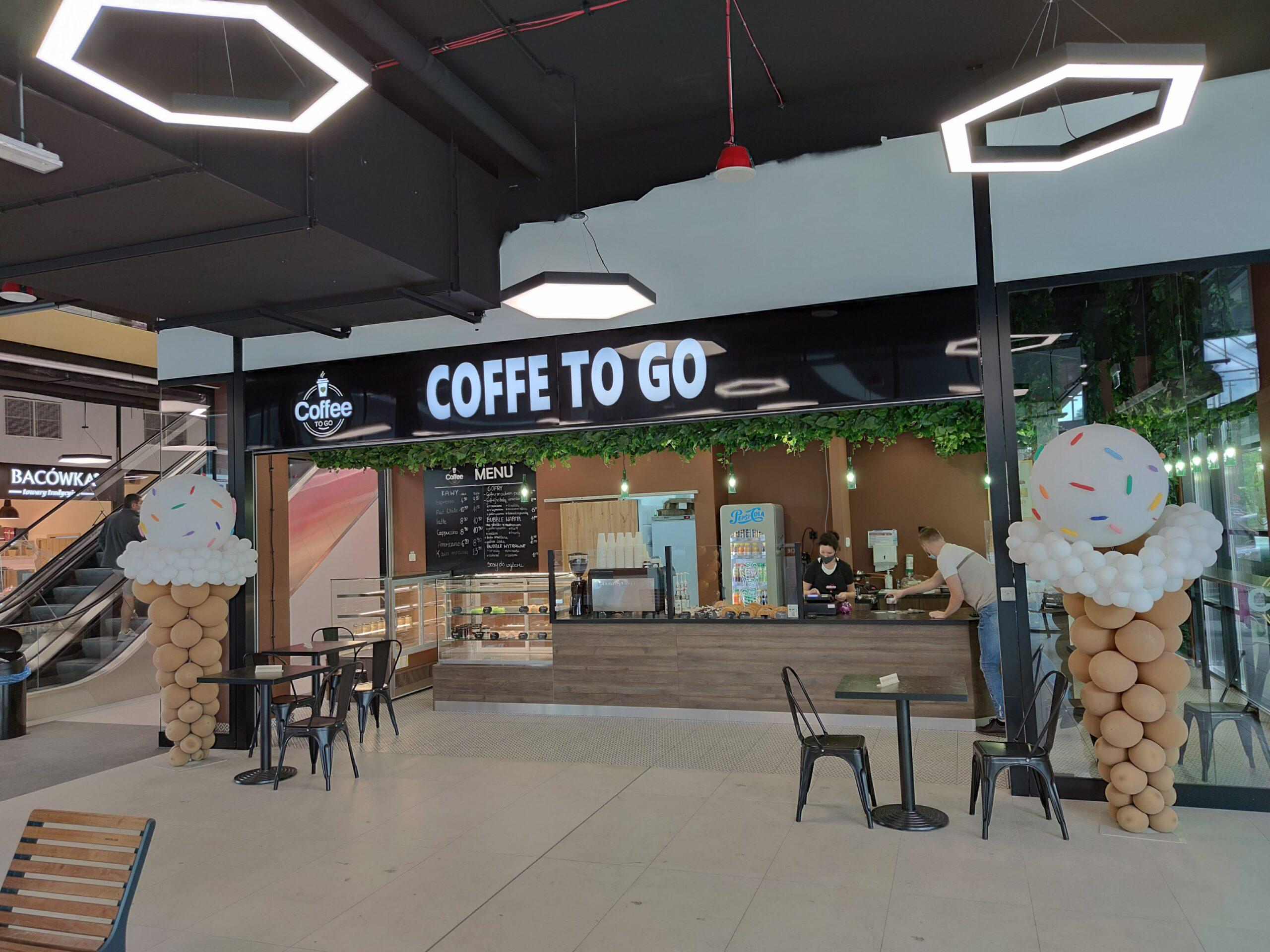 Sklep Coffee To Go w Galerii Odyseja