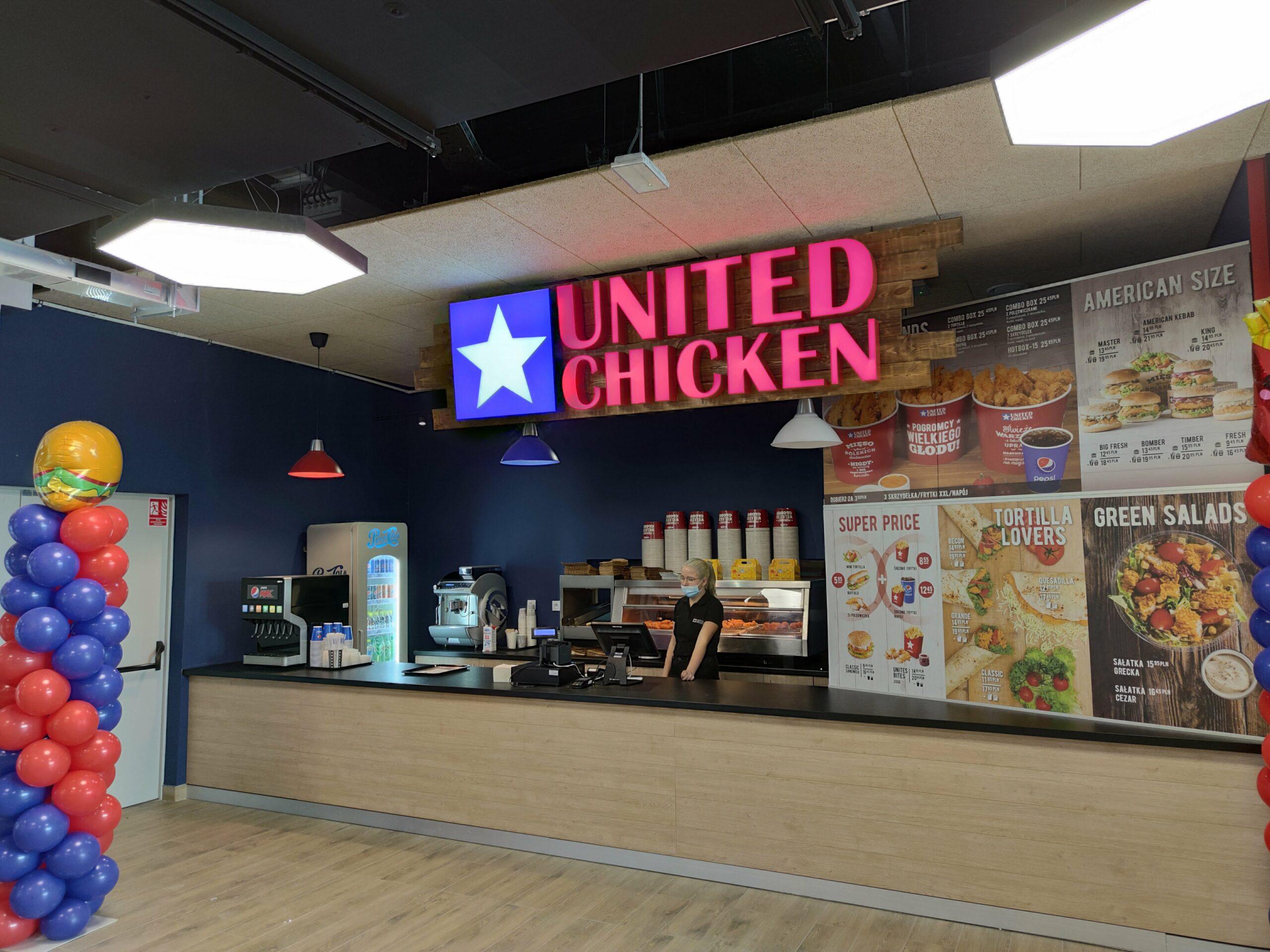 Sklep United Chicken w Galerii Odyseja